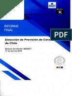 INFORME FINAL 982-17 DIRECCIÓN DE PREVISIÓN DE CARABINEROS DE CHILE - AUDITORÍA AL PROCESO DE PAGO DE PENSIONES A EX FUNCIONARIOS DE CARABINEROS DE CHILE - ABRIL 2018