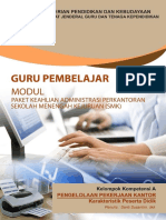 Apk 1 Modul Diklat Pkb Guru Smk Paket Keahlian Administrasi Perkantoran A