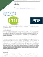 CoolAvenues.com MBA Network of IIMs ISB Bajaj XLRI FMS SPJAIN - CRM in Banking Industry - 2010-07-02