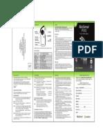 Alcosense Pro Breathalyser Manual
