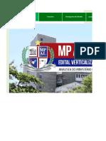 Edital Verticalizado - MP AL - Analista Gestão Pública