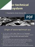 Socio Technical System