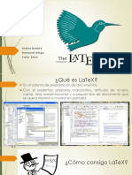 Introduccion a Latex