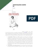 Cinco proposições sobre a psicanálise.docx