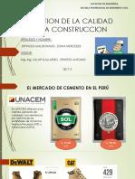 GESTION DE LA CALIDAD EN LA CONSTRUCCION