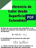 A. Clase 4.- Transferencia Calor en Superficies Extendidas
