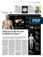 Más Cerca de Frenar La Diabetes Tipo 1