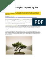 7 Design Principles, Inspired by Zen Wisdom