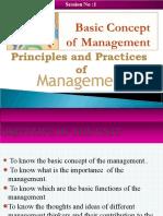 Unit 1- Basic Concept of Management