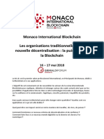 Monaco International Blockchain DP