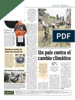 Un País Contra El Cambio Climático