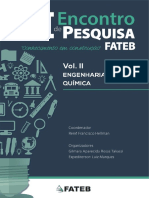 III Encontro de PesquisaVol II - Eng Quimica