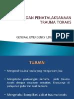 Trauma Toraks 2011 GELS IGD
