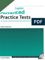 332753360 Mark Harrison Cambridge English Advanced Practice Tests