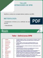 Icontec - Curso 71p01-V2 Buenas Prácticas de Manufactura Taller 1 - Definiciones Preguntas