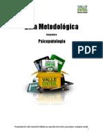 Guia Metodologia Psicopatologia