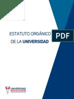 Estatuto Orgánico de La UMSS