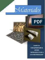 INFORME - Introduccion a Los Materiales - Choquehuanca Apaza. Danitza