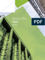 Monetary Policy Report April 18th 2018