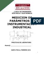Medición de Parámetros en Instrumentación Industrial 2016 - Laboratrio