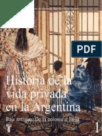Una Revolución en Las Costumbres, Las Nuevas Formas de Sociabilidad de La Elite Porteña (1800 - 1860) Jorge Miyers