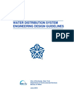 Water Engineering Design Guidelines