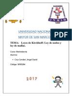 informe Previo N6 Ley de Kirchoff