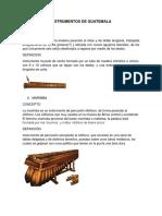 Instrumentos de Guatemala