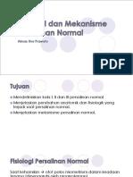 Fisiologi Dan Mekanisme Persalinan Normal