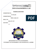 Report-Irrigation System Design 14