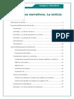 Texto Narrativo LENG11 Imprimible Docente