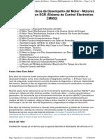 Árbol de Diagnósticos de Desempeño Del Motor - Motores ISB Equipados Con EGR (Sistema de Control Electrónico CM850)