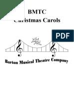 Carol Booklet