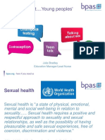 Sexual Health for Exeter 2015 Sha