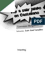 Voy a Salir Jalado en Castellano Santillana