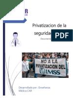 Privatizacion de La Seguridad Social