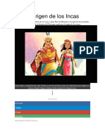 El Origen de Los Incas