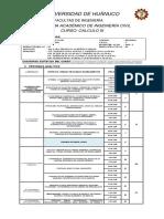 CIVIL Cálculo III Descriptivo