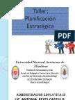 Administrarcion Educativa Planificación Estratégica