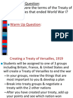 treaty of versailles  1