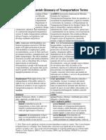 English to Spanish Glossary of Transportation Terms.pdf