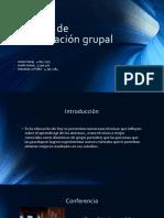 Técnicas de Comunicación Grupal
