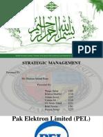 144620335 Strategic Management Project of PEL Pakistan