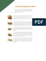Comer Frutos Secos Enriquece Tu Dieta