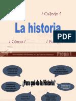 Prepa Unidad i Introduccion a La Ciencia de La Historia
