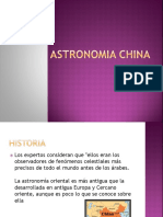Astronomia China