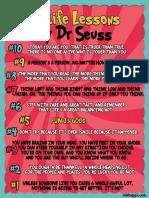 Dr Seuss Life Lessons