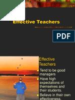 Effective TeachersPART2