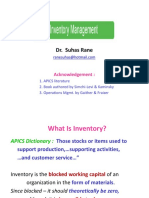 Invtry Mgmt By Suhas Rane