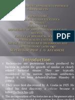 Bacteriocin Slide